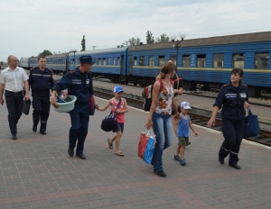 ГосЧС, АТО. беженцы, юго-восток Украины, Крым, Донбасс, Донецкая область, Луганская область