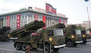 Северная Корея,Южная Корея, РСЗО, мировые новости