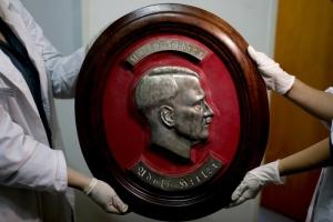 Германия, Гитлер, Аргентина, Третий рейх, полиция, находка, нацистская коллекция, артефакты