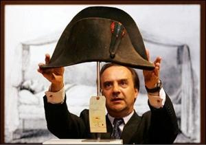 шляпа наполеона,  аукцион, франция