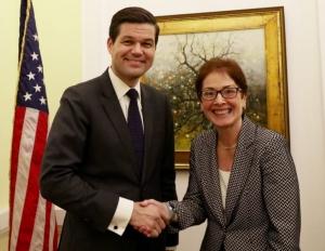 Украина, США, Рабочий визит, Заместитель госсекретаря, Аарон Вэсс Митчелл