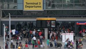 великобритания, лондон, хитроу, British Airways, самолет, беспилотник, происшествия