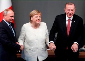 Путин, внешний вид, подозрения, меркель эрдоган СМИ, странности