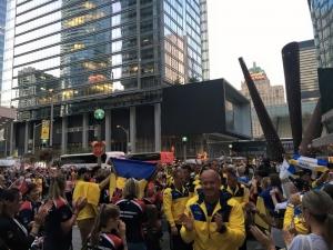 """Канада, Украинская сборная, """"Игры непокоренных"""", Петр Порошенко, Торонто"""