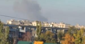 северодонецк, пожар, дым, облако