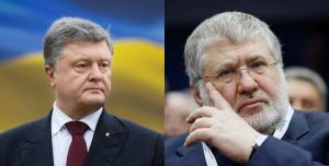 Коломойский, Порошенко, телеканал 1+1, конфликт, ссора, Украина
