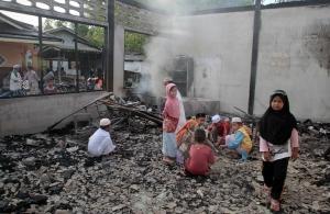 поджог школы, сепаратисты, таиланд