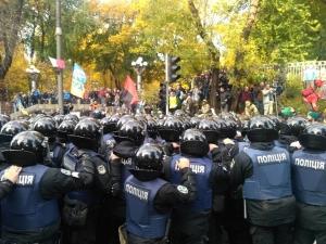 киев, саакашвили, митинг, штурм, полиция, фото, видео, раненые, верховная рада, происшествия, новости украины