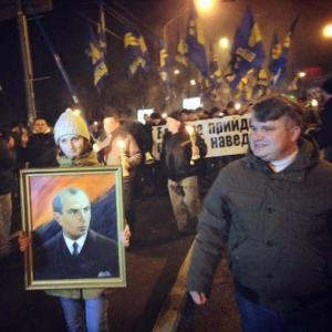 Бандера, свобода, Одесса, акция, марш, годовщина, общество, Старый Угрив
