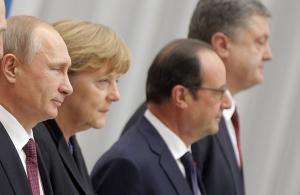 нормандская четверка, новости украины, ангела меркель, петр порошенко, владимир путин, франсуа олланд