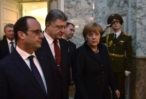 нормандская, четверка, порошенко, меркель, олланд, путин