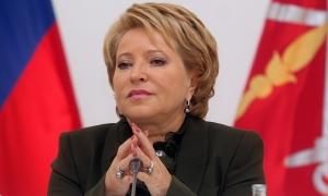 Матвиенко, совет федерации, новости России, новости Украины