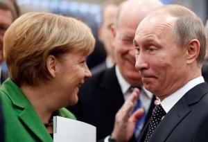 санкции, меркель, путин, россия