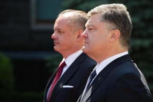 порошенко, словакия, донбасс, ато, росия, минск, санкции в отношении россии