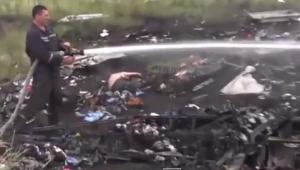 малайзия, самолет, боинг, видео, крушение, торез, ато