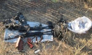 украина, донецк, красногоровка, тайник, сбу, мвд, терроризм, оружие, боеприпасы