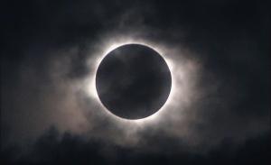 Космос, лунное затмение, NASA