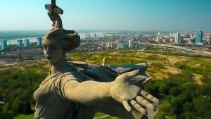 сша, россия, родина мать зовет, памятник