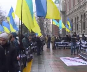 Гонтарева, НБУ, украина, пикет
