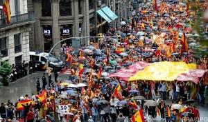 Испания, Каталония, сепаратизм,  референдум, политика, общество, Барселона, акции протеста, кадры