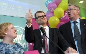 премьер, финляндия, оппозиционная партия, центр, юха сипиля, россия, санкции