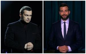 Ургант, Соловьев, Россия-1, скандал, соцсети, комментарии, политика, пропагада, Кремль, бан