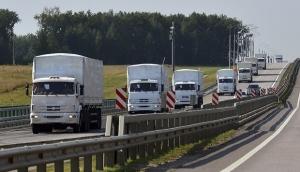 гуманитарный конвой, россия, украина, донбасс