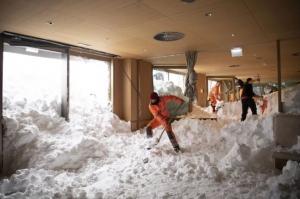погода, европа, снегопады, жертвы, прогноз погоды