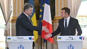 украина, франция, макрон, порошенко, россия, донбасс, формула макрона, конфликты