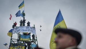 Киев, Евромайдан, елка, киевская мэрия