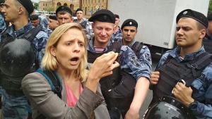 Россия, Москва, митинг, разгон, агрессия, видео, протест, голунов