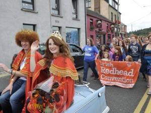 ирландия, праздник рыжих, общество, происшествия