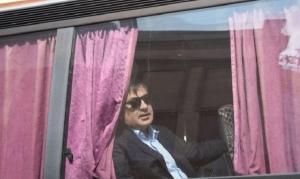 Михеил Саакашвили, Грузия, Украина, дело против Саакашвили, Пермышль-Львов