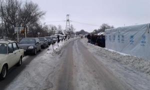 ДНР, ЛНР, восток Украины, Донбасс, КПВВ, очереди, боевики