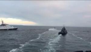 россия, азовское море, корабли, штурм, видео, украина, вмс украины, происшествия