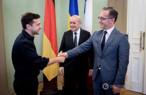 Украина на политики дипломаты встреча Зеленский внешний вид соцсети