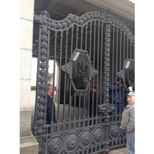 верховная рада, ворота, герб украины