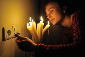 рождество, веерные отключения света, украина