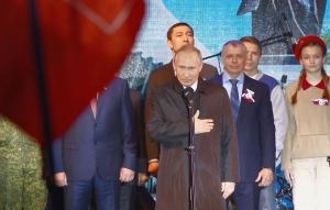 новости, Крым, Симферополь, митинг, Путин, крымчане, историческое сравнение, Красная армия, видео, речь