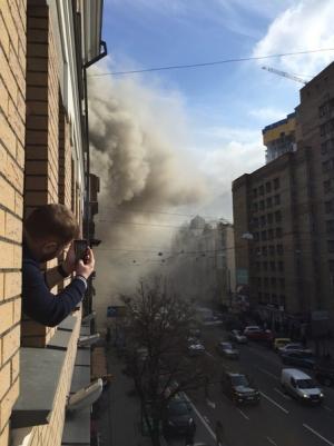 киев, происшествия, общество, пожар