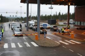 Россия, пропускной пункт, граница, Финляндия, Инари, контрсанкции, древесина