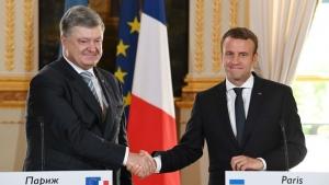 Украина, Донбасс, ДНР, ЛНР, Макрон, Россия, Франция, Порошенко, политика, общество, Минские соглашения