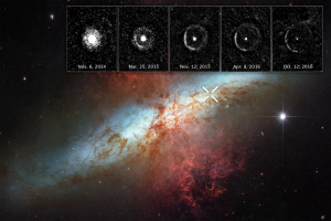 Сверхновая, NASA, астрономы, SN 2014J, световое эхо,