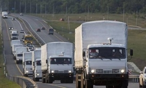 гуманитарный конвой, россия, донбасс
