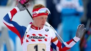 украина, биатлон, спорт, чм, пидручный, норвегия, золото