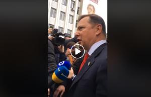 Украина, политика, криминал, суд, ляшко, драка, герус, заседание