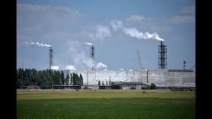 выбросы, крым, аннексия, катастрофа, происшествия, армянск, режим чрезвычайной ситуации