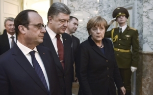 меркель, порошенко, политика, путин