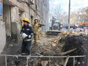 Украина, Одесса, пожар, Происшествие, Колледж, Огонь, Зеленский, Спасатели.