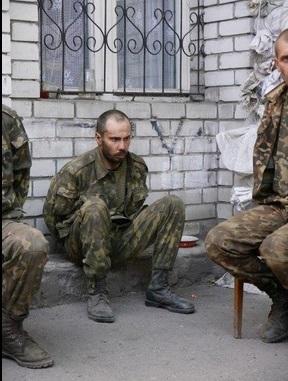 украинские военные, плен, южный котел